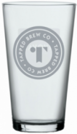Tapped Brew Co Conical Half Pint Glasses 10oz (Box of 48)