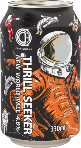 Oakham Thrill Seaker 4.8% 12 x 330ml Cans
