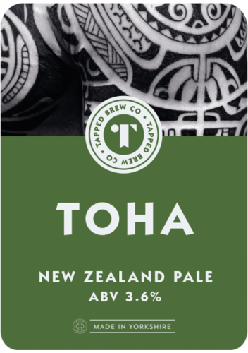 Tapped Brew Co Toha 3.6% 9g