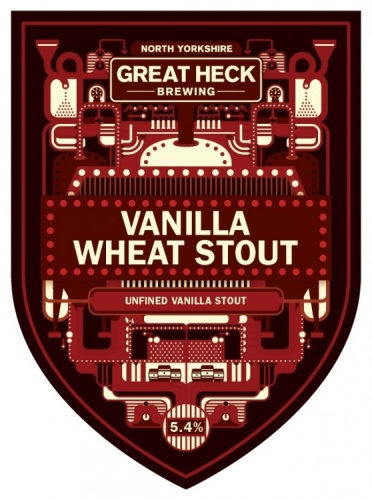 Great Heck Vanilla Wheat Stout 5.4% 9g