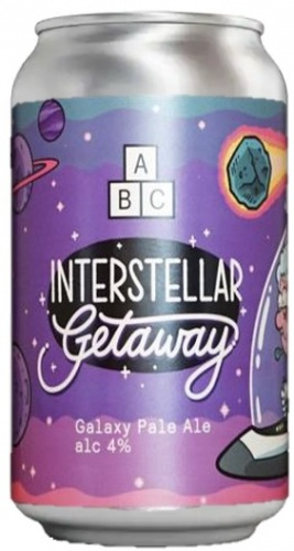 Alphabet Brewing Interstellar Getaway 4% 1 x 330ml Cans