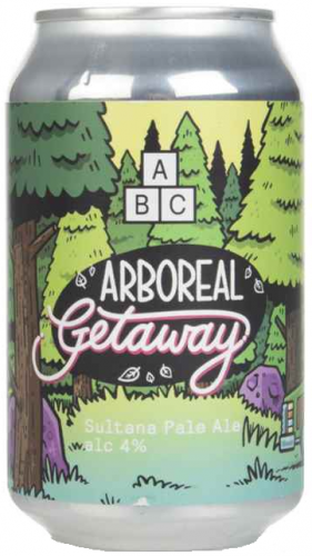 Alphabet Brewing Arboreal Getaway 4% 1 x 330ml Cans