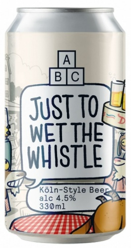 Alphabet Brewing Just To Wet The Whistle 5% 1 x 330ml Cans