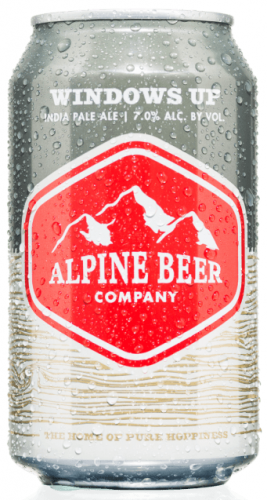 Alpine Windows Up 7% 12 x 355ml Cans
