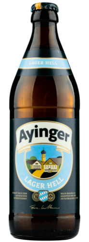 Ayinger Lager Hell 4.9% 1 x 500ml Bottles