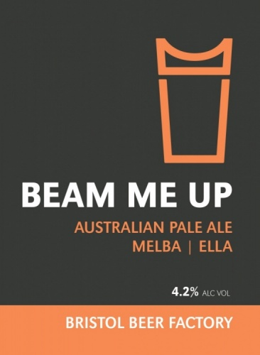 Bristol Beer Factory Beam Me Up 4.2% 9g