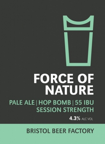 Bristol Beer Factory Force Of Nature 4% 9g