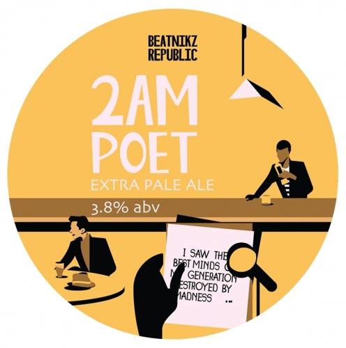 Beatnikz Republic 2am Poet 3.8% 30L (Keg-Star)