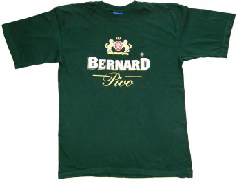 Bernard Brewery Green T-Shirt (Large)