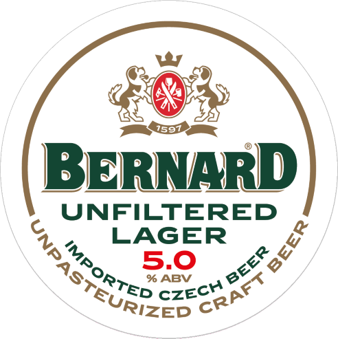 Bernard Unfiltered Lager 5% 30L Keg
