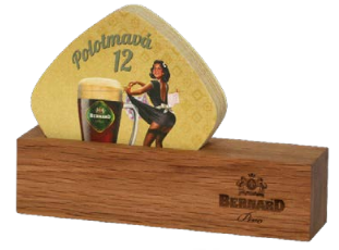 Bernard Beer Mat Stand Wooden ( Box of 100 )