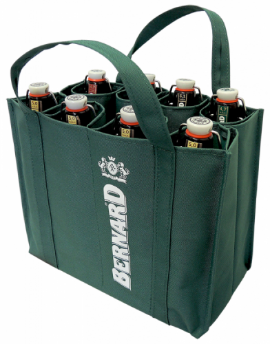 Bernard Brewery Green Cloth Bag For Bottles