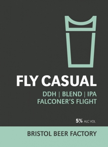 Bristol Beer Factory Fly Casual 5% 9g