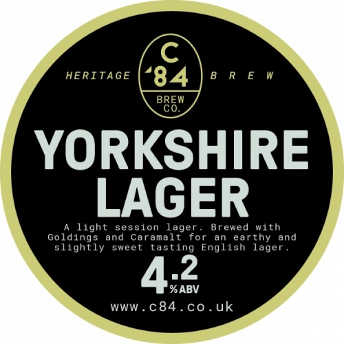 Great Yorkshire Lager 4.2% 50L Keg