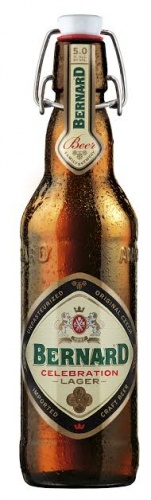 Bernard Celebration Lager 5% 20 x 500ml Bottles