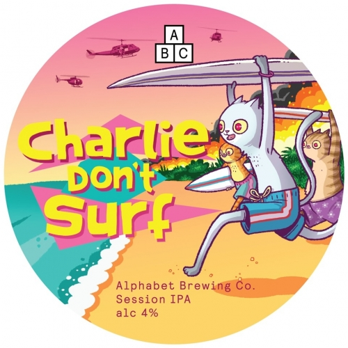Alphabet Brewing Charlie Don't Surf 4% 30L (Keg-Star)