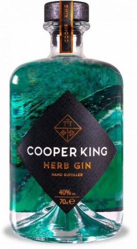 Cooper King Herb Gin 40% 1 x 70cl Bottle