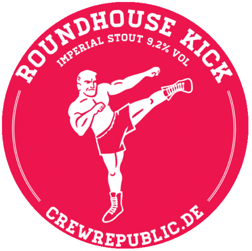 Crew Roundhouse Kick Imperial Stout  9.2% 20L Key Keg