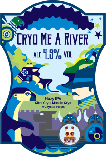 Brew York Cryo Me A River 4.9% 9g