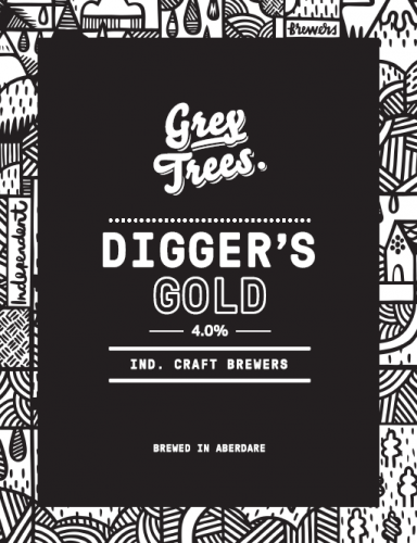 Grey Trees Diggers Gold 4% 9g (E-Cask)