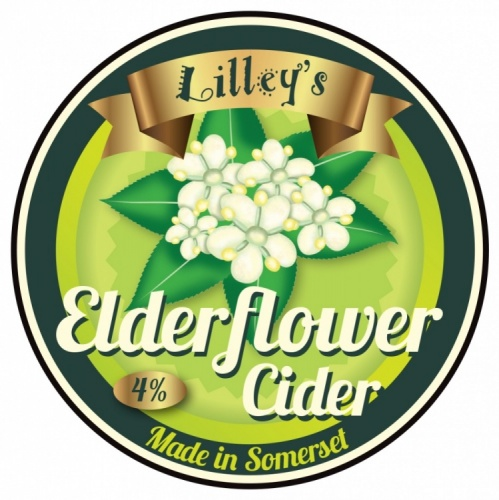 Lilley's Elderflower 4% 20L BIB