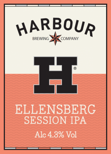 Harbour Ellensberg Session IPA 4.3% 9g (E-Cask)