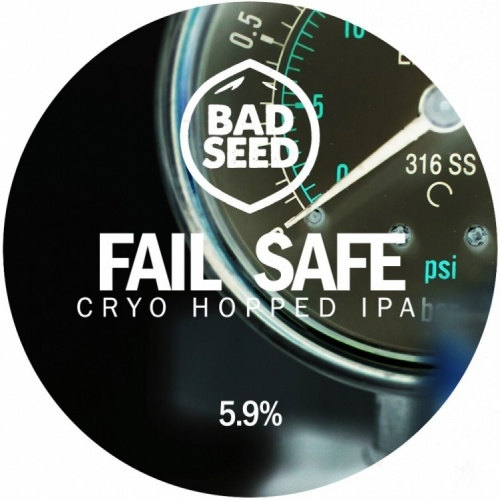 Bad Seed Fail Safe 5.9% 30L Key Keg