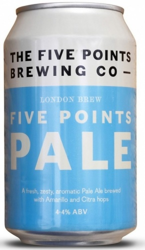 Five Points Pale 4.4% 24 x 330ml Cans