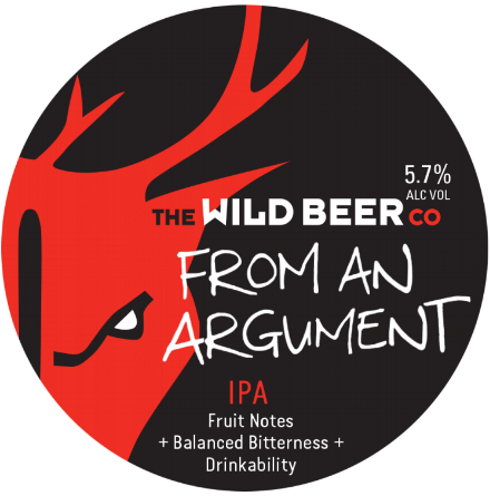 Wild Beer Co From An Argument 5.7% 30L (E-Keg)