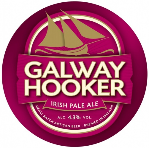Galway Hooker Irish Pale Ale 4.3% 30L Key Keg