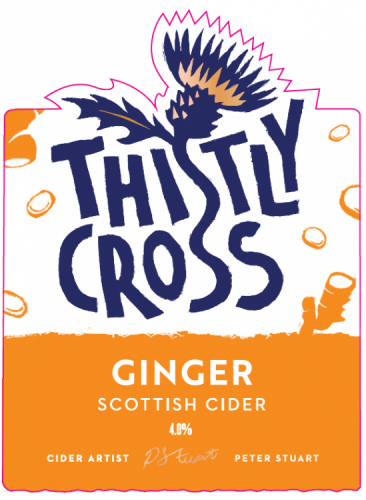 Thistly Cross Ginger Cider 4% 20L Bag In Box