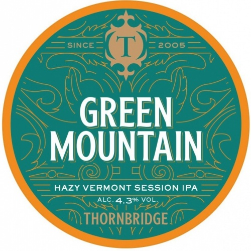 Thornbridge Green Mountain 4.3% 30L (E-Keg)