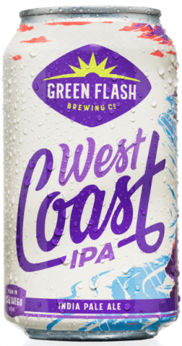 Green Flash West Coast IPA 7% 12 x 355ml Cans