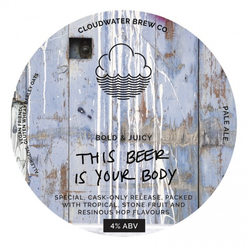 Cloudwater The Beer Is Your Body 4% 9g