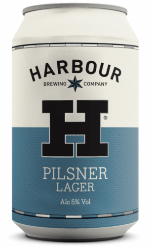 Harbour Pilsner 5% 24 x 330ml Cans