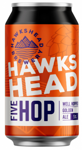 Hawkshead Cumbrian 5 Hop 5% 24 x 330ml Cans