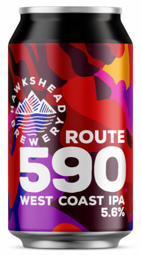 Hawkshead Route '590' 5.6% 24 x 330ml Cans
