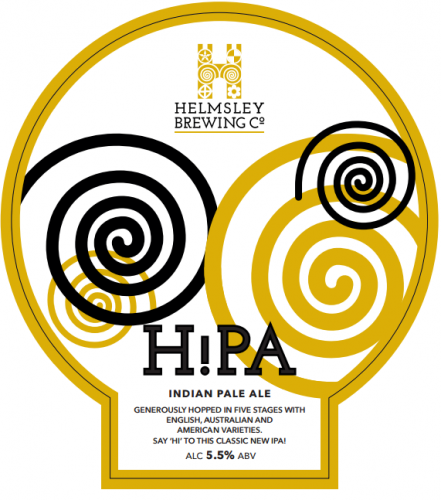 Helmsley Brewing Co HiPA 5.5% 9g (E-Cask)