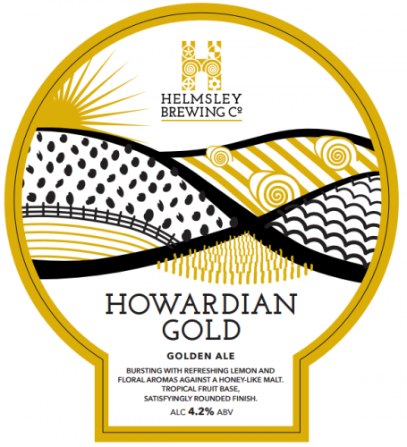 Helmsley Brewing Co Howardian Gold 4.2% 9g (E-Cask)