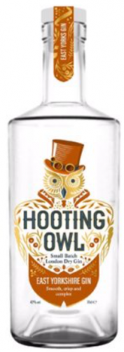 Hooting Owl East Yorkshire Gin 42% 1 x 70cl Bottle