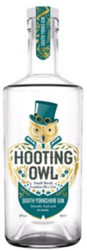 Hooting Owl South Yorkshire Gin 42% 1 x 70cl Bottle