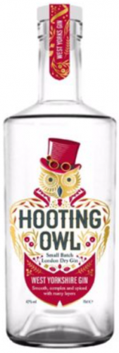 Hooting Owl West Yorkshire Gin 42% 1 x 70cl Bottle