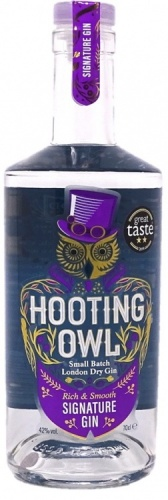 Hooting Owl Signature Gin 42% 1 x 70cl Bottle
