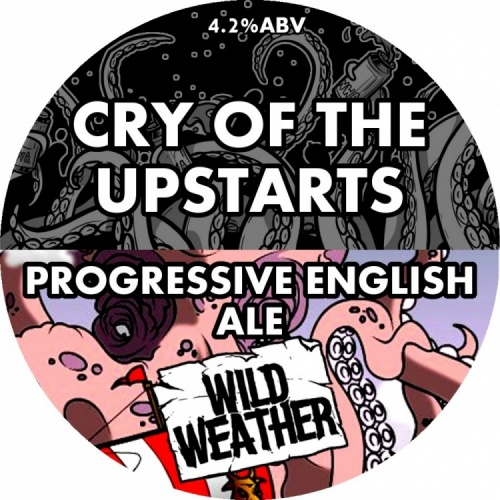 Wild Weather Cry Of The Upstarts 4.2% 9g (E-Cask)