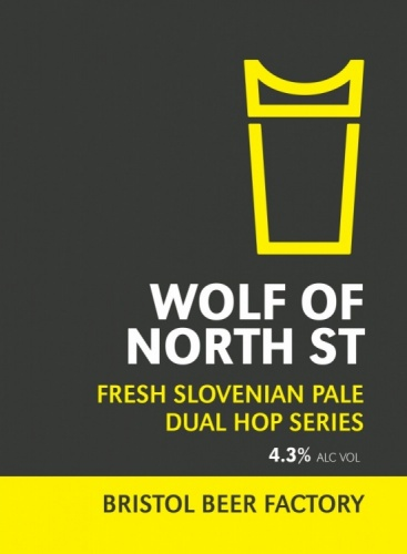 Bristol Beer Factory Wolf Of The North Street 4.3% 9g