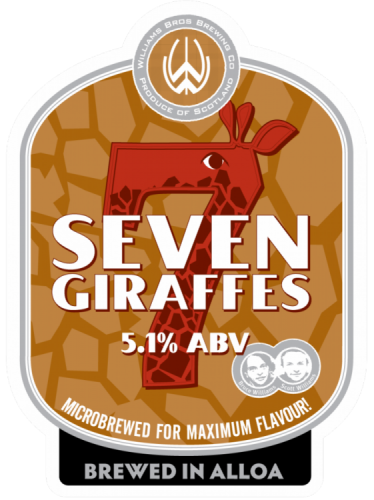 Williams Brothers Seven Giraffes 5.1% 9g