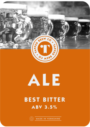Tapped Brew Co Ale 3.5% 9g