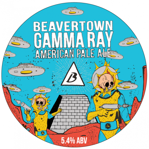 Beavertown Gamma Ray 5.4% 30L Keg Star