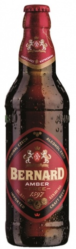 Bernard Free Amber Alcohol Free Beer (Jantar) 0.5% 1 x 500ml Bottles