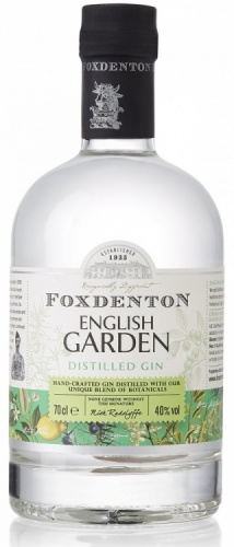 Foxdenton English Garden Gin 40% 1 x 70cl Bottle